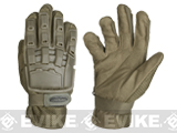 Matrix Full Finger Tactical Gloves - Tan