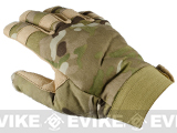 Special Force Cold Weather Shooter's Tactical Gloves - Camo (Size: Large)