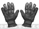 Matrix Terminator CQB Combat Tactical Full Finger Gloves (Size: M) - Black