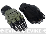Matrix Terminator CQB Half Finger OD Combat Tactical Gloves (XL)