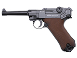 Gletcher P08 Luger CO2 Powered Air Pistol (4.5mm Air Gun)