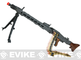 G&G GMG-42 / MG-42 Airsoft Electric Machine Gun w/ Real Wood Furniture, Battery, and Charger