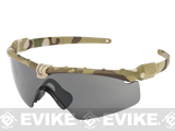 Oakley SI Ballistic M Frame 3.0 Strike Shooting Glasses (Color: Multicam / Smoke Grey)