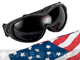 Global Vision ANSI Rated Goggles w/ Pouch & Two lens