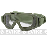 GxG Tactical Multi-Purpose Full Sealed Goggles w/ 3 Lens - OD Green