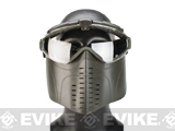 Pro-Goggle Airsoft Full Face Mask w/ Integrated Fan - OD Green