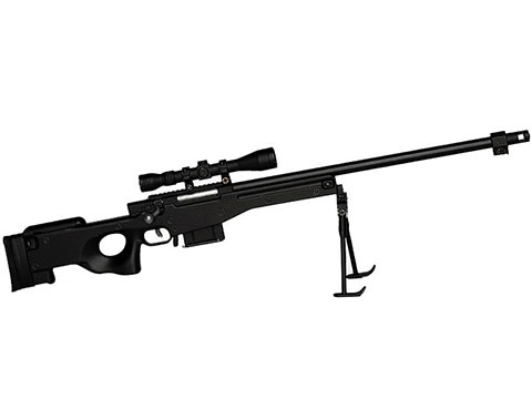 GoatGuns 1:3 Scale Die-Cast Model (Model: Sniper / Black)