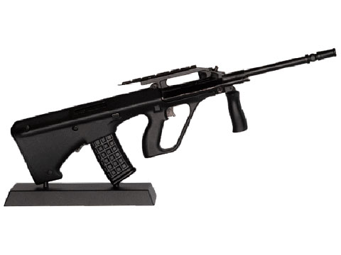 GoatGuns 1:3 Scale Die-Cast Model (Model: Bullpup / Black)
