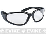Evike.com Hercules Low Profile Compact Shooting Glasses - Clear Lens