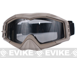 Avengers Tactical Airsoft Gaming Extreme Sports Goggles (Color: Desert Tan)