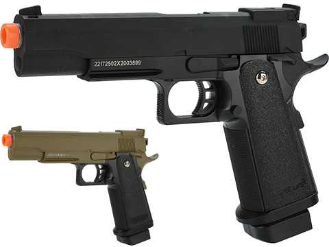 Golden Eagle 3002T Hi-Capa Style Spring Powered Airsoft Pistols