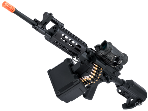 Matrix Golden Eagle AR LMG Airsoft AEG Light Machine Gun (Length: 16.25 / Black)