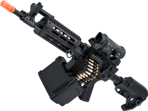 Matrix Golden Eagle AR LMG Airsoft AEG Light Machine Gun (Length: 12.5 / Black)