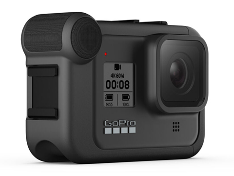GoPro Media Mod Shotgun Mic for HERO8 (Color: Black)
