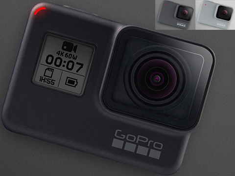 GoPro HERO7 Professional Wearable Camera