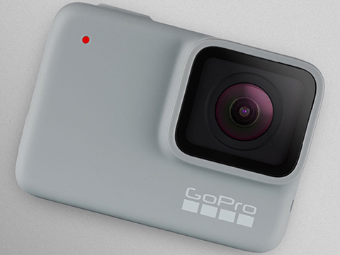 GoPro HERO7 Professional Wearable Camera (Version: White)