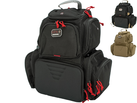 G-Outdoors Handgunner Backpack with 4 Pistol Slots