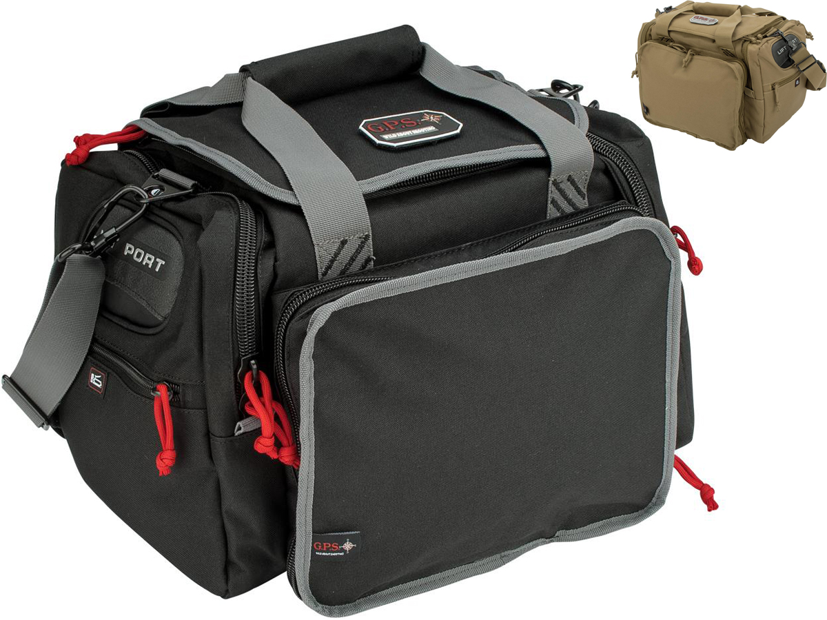 G-Outdoors G.P.S  Tactical Range Bag with 2 Ammo Dump Cups
