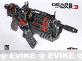 Limited Edition Gears of War 3: Locust Hammerburst II Full Scale Replica
