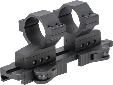 G&P 30mm Quick-Lock QD Adjustable Scope Mount for Magnified Rifle Scopes