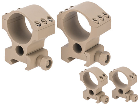 G&P 30mm Scope Mount Rings for Magnified Rifle Scopes