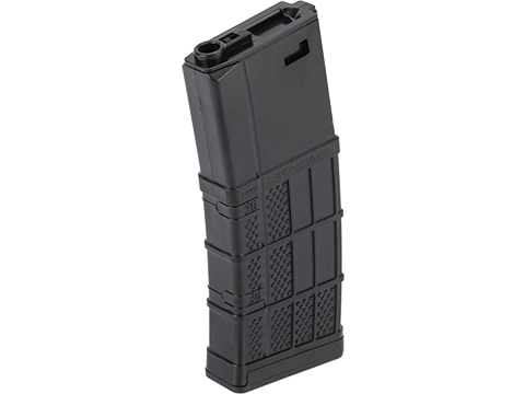 EMG 340rd Lancer Systems Licensed L5 AWM Hi-Cap Airsoft Magazine (Color: Black / 1 Pack)