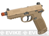 Cybergun FN Herstal Licensed FNX-45 Tactical Airsoft Gas Blowback Pistol by VFC (Color: Dark Earth / Gun)