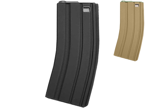 G&P Metal 130rd Mid-Cap Magazine for M4 / M16 Series Airsoft AEG Rifles (Color: Black / Single Magazine)