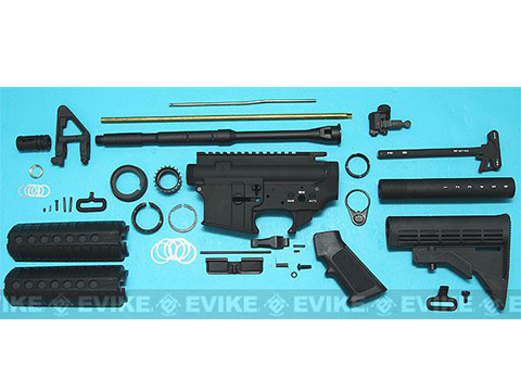 G&P Full Metal M4 WOC GBB Airsoft Gas Blowback Rifle Challenge Kit (Model: Blank Receiver)