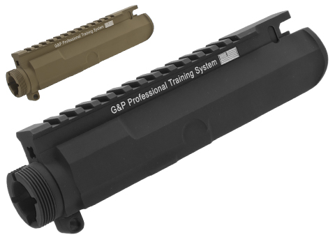 G&P Battlefield Type Upper Receiver for M4 / M16 Series Airsoft AEG Rifles (Color: Black)