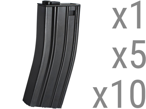 G&P 360rd High ROF Feeding Hi-Cap Magazine for M4 M16 Series Airsoft AEG Rifles (Package: Single Magazine)