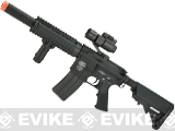 Evike Custom Class I G&P M4 CQB-R Airsoft AEG Rifle w/ Crane Stock - Black