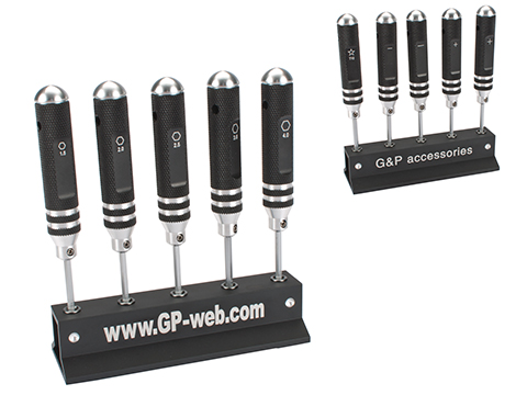 G&P Precision 5pc Screwdriver Set (Type: Hex)