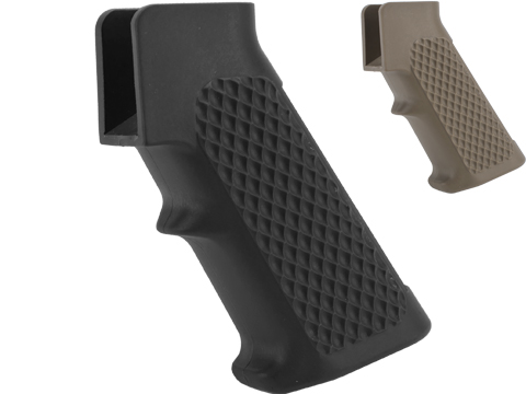 G&P Golf Ball Pistol Grip for M4 / M16 Airsoft AEG Rifles (Color: Black)