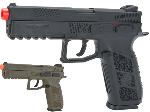ASG CZ P-09 Licensed Airsoft GBB Gas Blowback Pistol