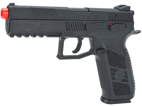 ASG CZ P-09 Licensed Airsoft GBB Gas Blowback Pistol (Color: Black)