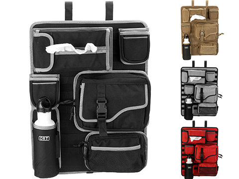 ORT 4x4 by G&P Tactical Seat-Back MOLLE Organizer Cover