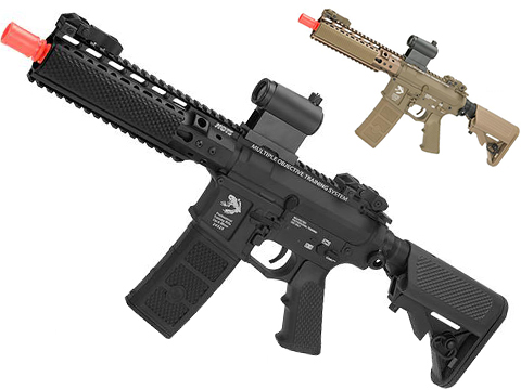 G&P MOTS High Speed 8 Keymod M4 Carbine Airsoft AEG Rifle (Package: Black / Gun Only)