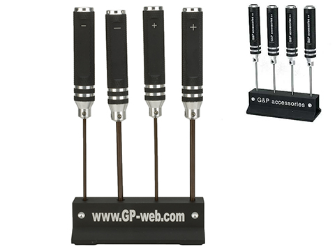 G&P Professional Airsoft Teching Steel Precision Screwdriver Set