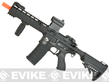 G&P 8 KeyMod Full Metal Gen 2WOC Gas Blowback Airsoft Rifle - Black