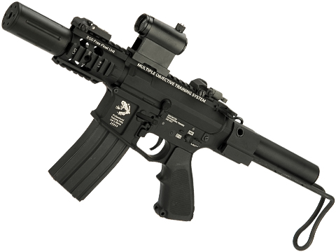 G&P Fighting Cat Airsoft CQB M4 Airsoft AEG with Tanker Stock