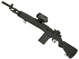 G&P M14 Scout Airsoft AEG Sniper Rifle - Black (Package: Gun Only)