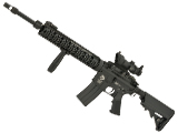 G&P Hybrid Full Size DMR Custom Airsoft AEG Rifle with Free Float Rail and Adjustable Stock