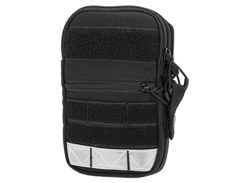 G&P ORT MOLLE Compatible Mobile Pouch II (Color: Reflective / Black)