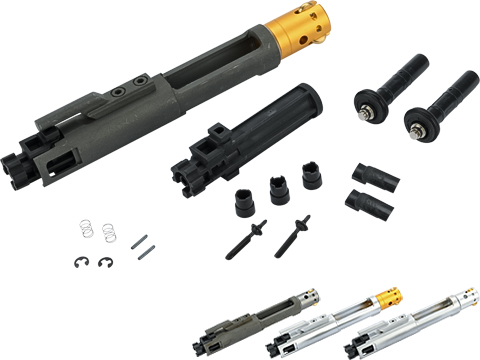 G&P Negative Pressure System Complete Bolt Carrier Group Set for G&P and Western Arms Gas Blowback Rifles