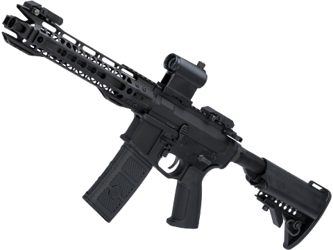 G&P M4 SBR AEG095 Airsoft AEG with 10.75 Keymod Handguard w/ i5 Gearbox (Color: Black / Gun Only)