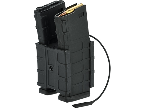 G&P HailStorm Electric Winding 700 Round Dual Polymer Magazine for M4 Series Airsoft AEGs