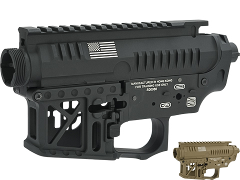 G&P CNC Machined Signature Competition Style Metal Body for M4 Series AEGs (Color: Black)