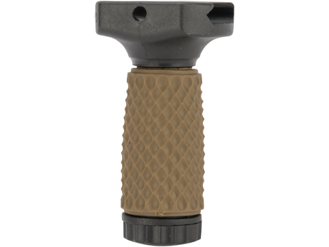 G&P Tactical Rubber Vertical Grip (Pattern: Golf Ball Pattern / Short / Two-Tone)