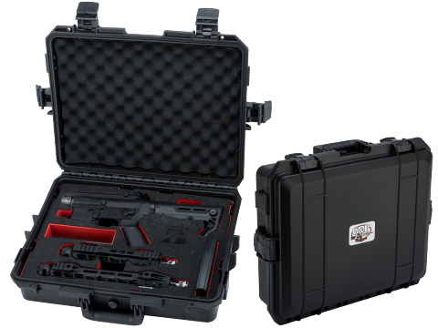 G&P Hardshell Locking Carrying Case with Foam Insert for G&P Transformer Compact Airsoft AEG